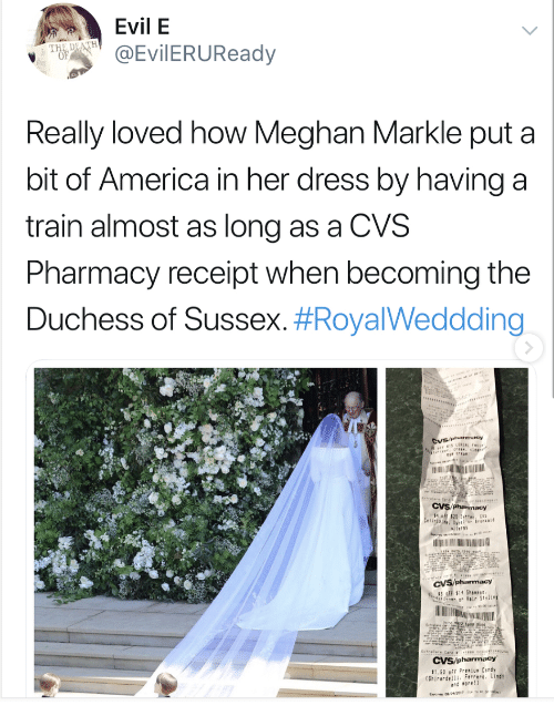 Evil E THE DEATH Really Loved How Meghan Markle Put a Bit of