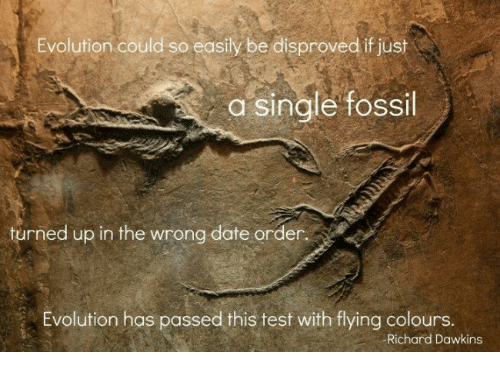 Dating fra fossiler evolution