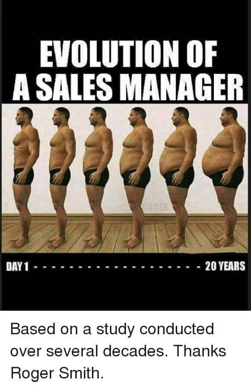 evolution of a sales manager day 1 20 years based 12025670 evolution of a sales manager day 1 20 years based on a study