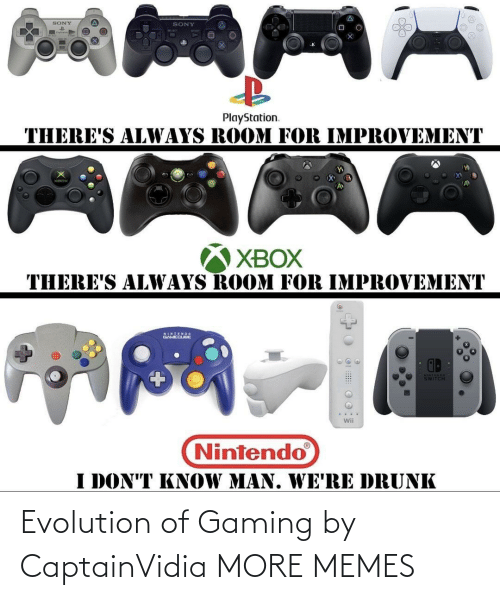 Dank, Memes, and Target: Evolution of Gaming by CaptainVidia MORE MEMES