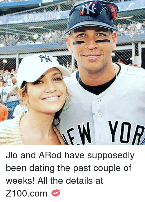 JLo, Memes, and 🤖: EW YOR Jlo and ARod have supposedly been dating the past couple of weeks! All the details at Z100.com 💋