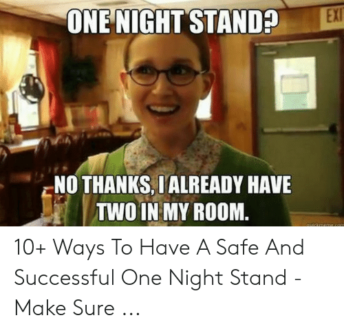 One night stand with ex