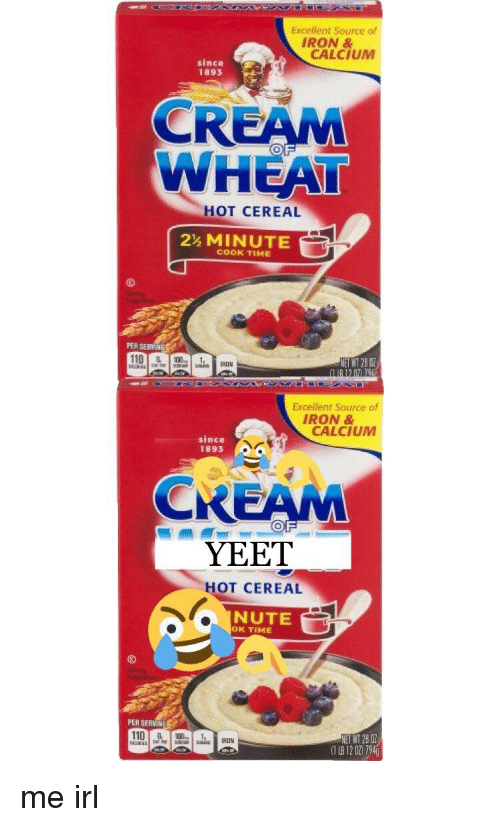 Cooking Cereal Meme