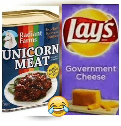 """Nina In New York: This Gives """"Government Cheese"""" A Whole New Meaning"""