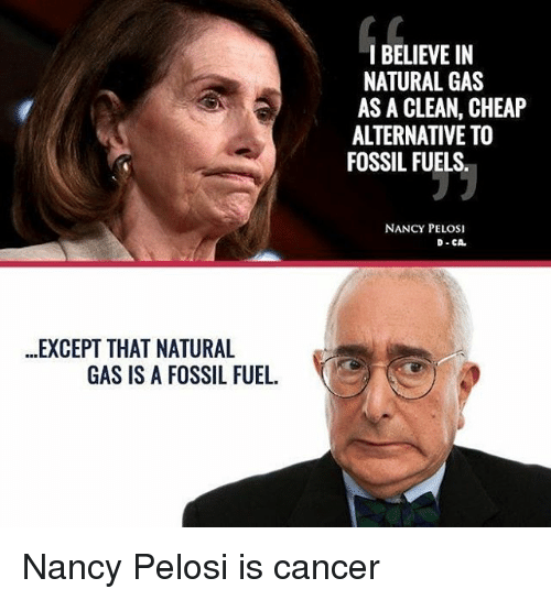 Pelosi Natural Gas Alternative