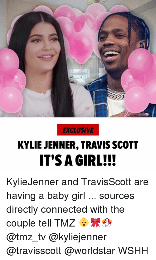 exclusive kylie jenner travis scott its a girl kyliejenner and 27937339 ✅ 25 best memes about it's a girl it's a girl memes