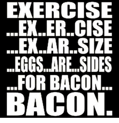 exercise ex er cise ex ar size eggs are sides for bacon bacon 4749376 exercise exercise exarsize eggs are sides for bacon bacon ex's