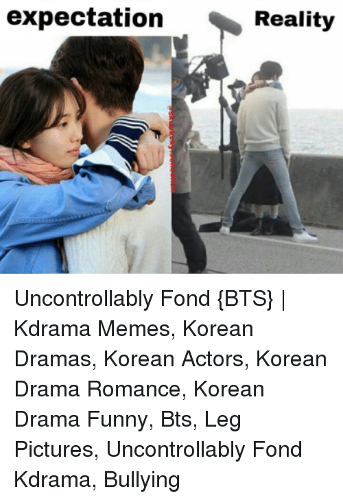 Expectation Reality Uncontrollably Fond BTS | Kdrama Memes Korean