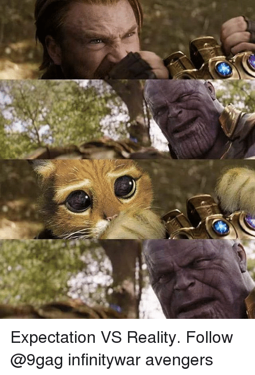 9gag, Memes, and Avengers: Expectation VS Reality. Follow @9gag infinitywar avengers