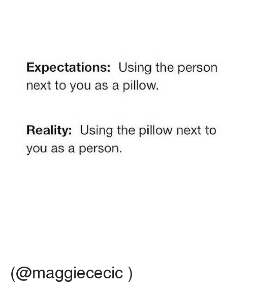personal expectations