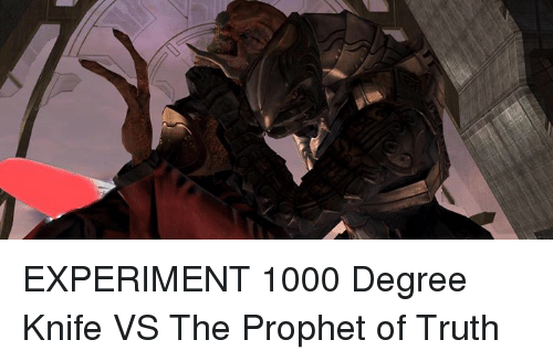 Dank, The Prophet, and 🤖: EXPERIMENT 1000 Degree Knife VS The Prophet of Truth