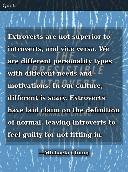 kan extroverts dating introverts
