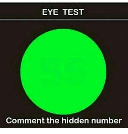 9ee59332abea EYE TEST Comment the Hidden Number