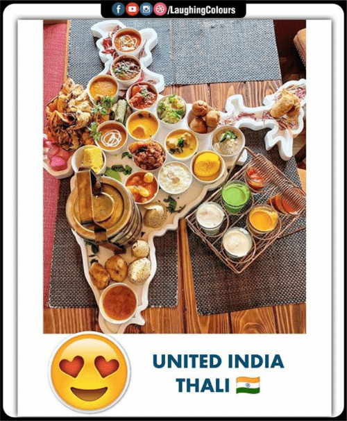 India, United, and Indianpeoplefacebook: fロ回@iLaughingColours  UNITED INDIA