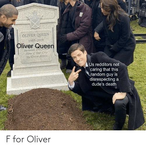 For and Oliver: F for Oliver