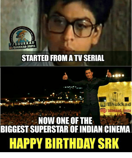f insta started fromatv serial ibhukkad now one of the 5999722 ✅ 25 best memes about happy birthday srk happy birthday srk memes