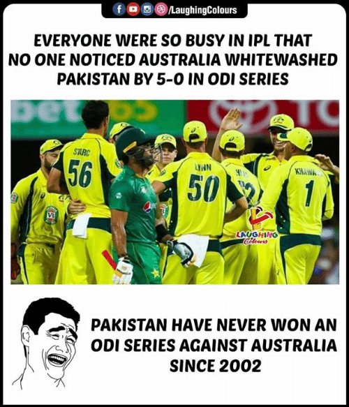F LaughingColours EVERYONE WERE SO BUSY IN IPL THAT NO ONE NOTICED