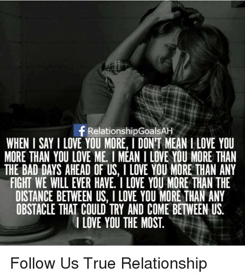 What does i love you mean in a relationship