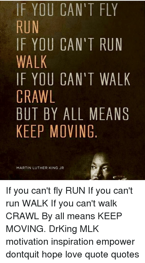 F You Cant Fly Run If You Cant Run Walk If You Cant Walk Crawl