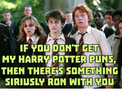 Harry Potter Pun Captions