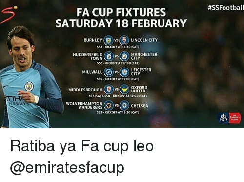fa cup fixtures - photo #29