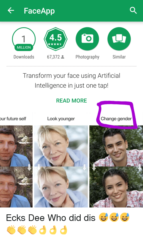 Face App 45 MILLION 67372 S Photography Downloads Similar