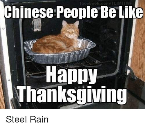Chinese People Be Like