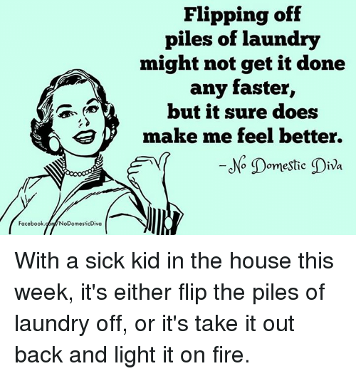 facebook nodomesticdiva flipping off piles of laundry might not get 15059627 ✅ 25 best memes about flip off flip off memes