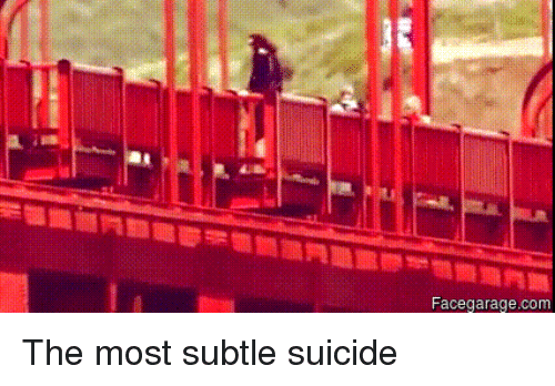 subtle suicide Suicide poems written by famous poets browse through to read poems for suicide this page has the widest range of suicide love and quotes.