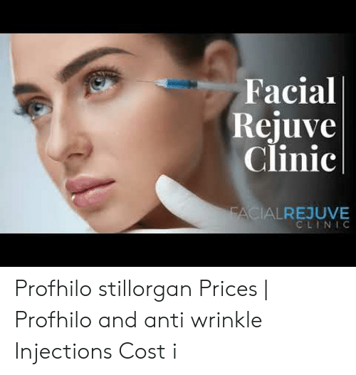 Facial Rejuve Clinic FACIALREJUVE CLINIC Profhilo Stillorgan