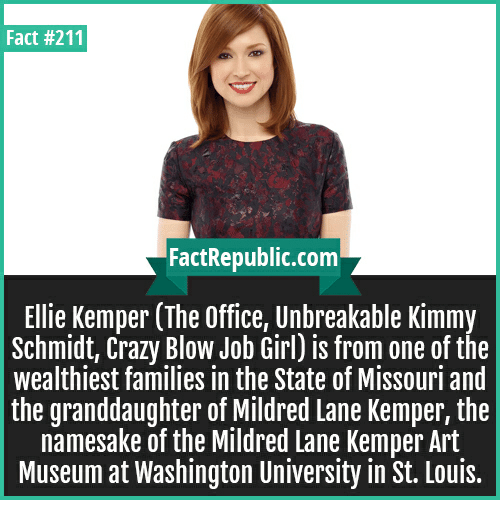 Ellie kemper blow job, how can i get some pussy