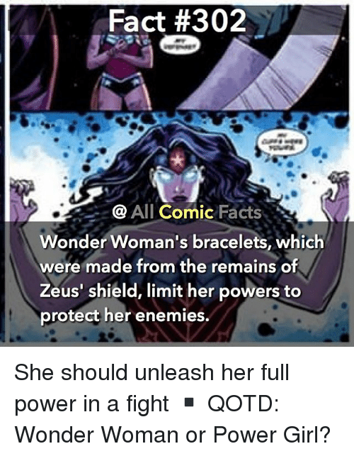 Fact 302 All Comic Facts Wonder Woman S Bracelets Which Were Made