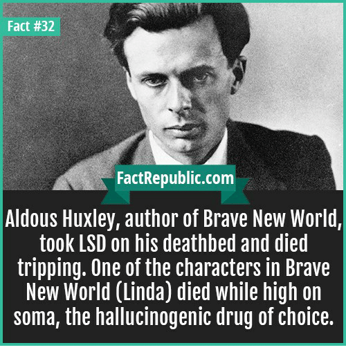 a comparison of brave new world by aldous huxley and modern society Brave new world is an influential novel written by aldous huxley it is a dystopian novel and indeed a satirical fictional piece of literature by huxley the reason for the book to be widely acknowledged today is the fact that one can relate it much closely to today's society since it holds drastic similarities to the present.