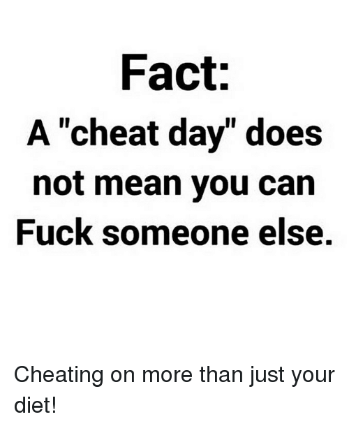 why does someone cheat
