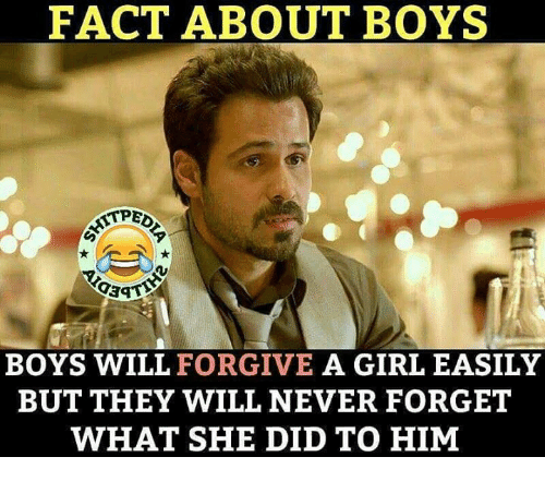 But the girl is highly forgiving...