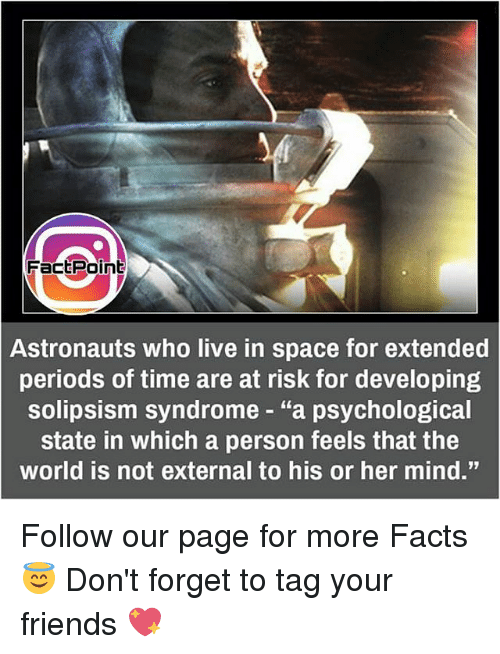 fact point astronauts who live in space for extended periods of time