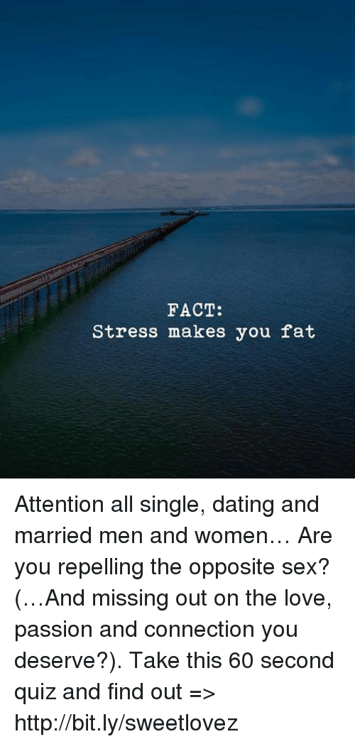 Stress of dating a married man
