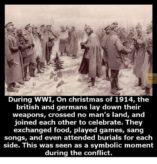 christmas facts and food facts during wwi on christmas of 1914 - British Christmas Songs