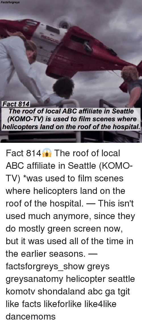 Abc Facts And Memes Forgreys Fact 814 The Roof Of Local ABC