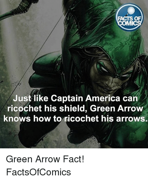 facts of mmi just like captain america can ricochet his shield green
