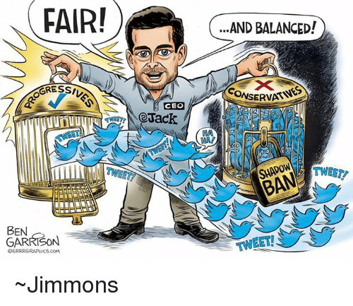 Memes, 🤖, and Com: FAIR!  ..AND BALANCED!  GRESSI  CONSERVAT  CEO  unuu  TWEET  SHADOW  BEN  GARRISON  OGRRRGRAPHICS.coM  TWEET  TWEET ~Jimmons