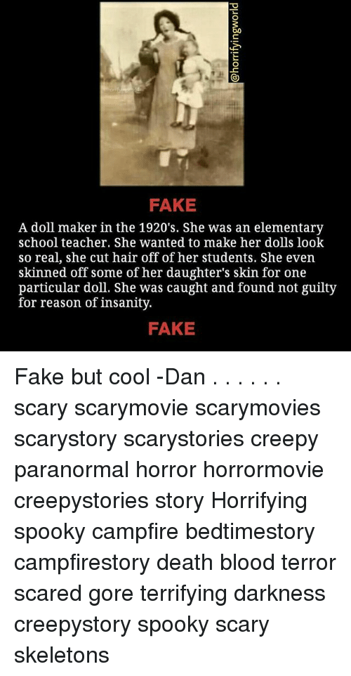 FAKE a Doll Maker in the 1920's She Was an Elementary School Teacher