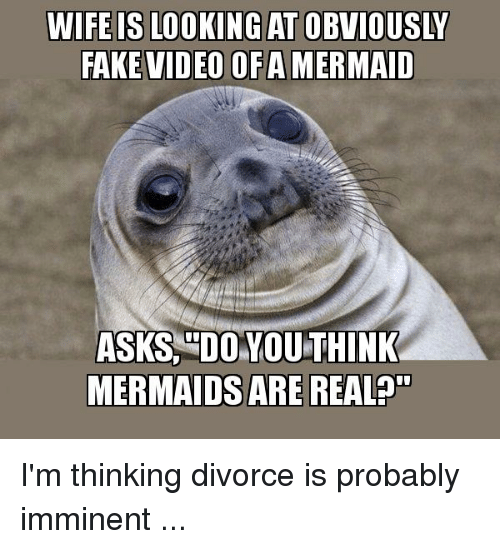 Image of: Funny Animals Fake Videos And Mermaids Fake Video Ofamermaid Asks Do You Think Mermaids Are Bhclipcom Fake Video Ofamermaid Asks Do You Think Mermaids Are Real Im
