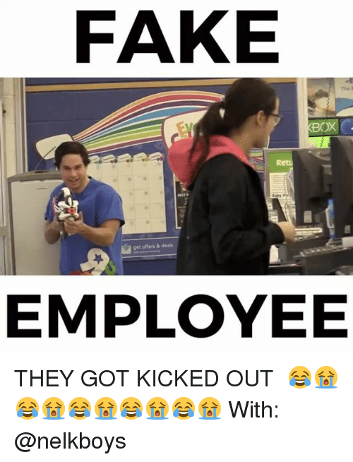 FAKE XBOX Get Offers & Deals EMPLOYEE THEY GOT KICKED OUT