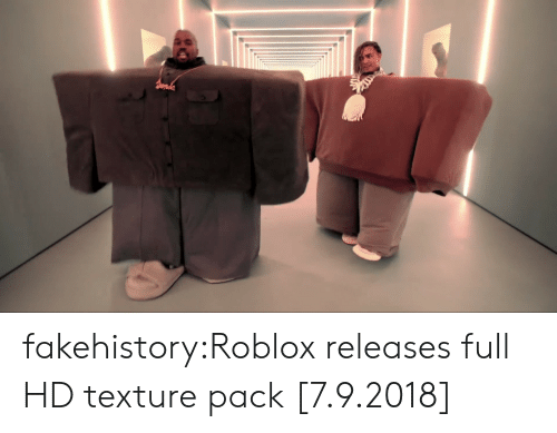 Tumblr, Blog, and Roblox: fakehistory:Roblox releases full HD texture pack [7.9.2018]