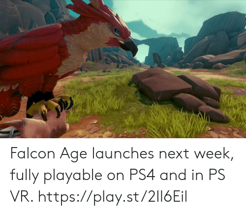 Falcon Age Launches Next Week Fully Playable on PS4 and in PS VR