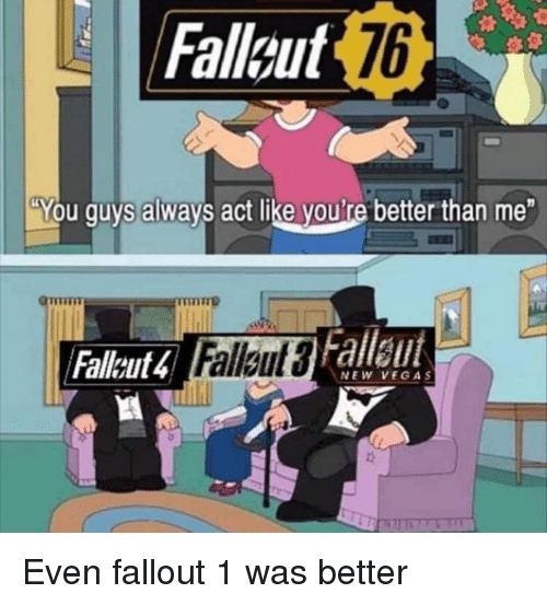 TOPO THINGSTHAT WWEALREADY KNOW SUCK ABOUT THERELEASE OF FALLOUT 1