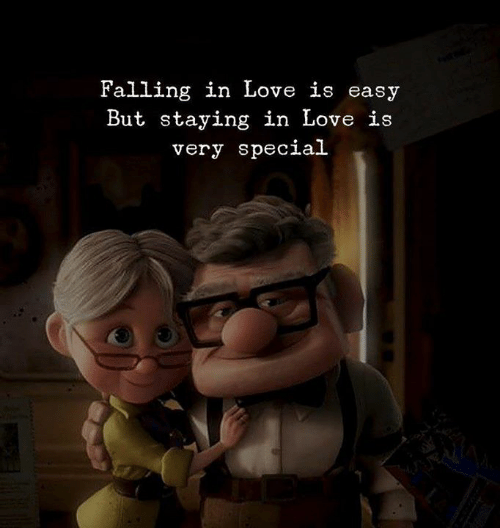 Love, Easy, and Falling in Love: Falling in Love is easy  But staying in Love is  very special