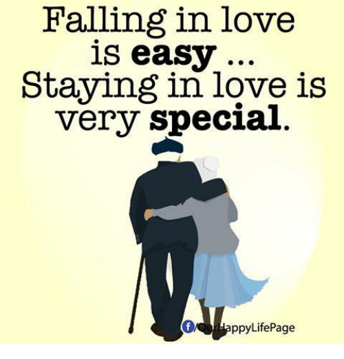 Falling In Love Is Easy But Staying In Love Quotes: Falling In Love Is Easy Staying In Love Is Very Special