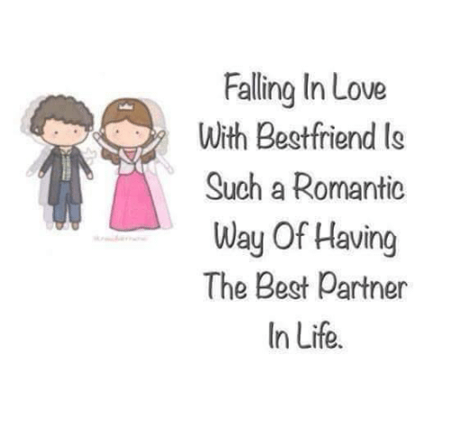 falling in love with best friend such a romantic way of having thebest friend, memes, and best friends falling in love with best friend such